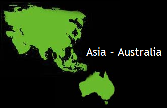 Minerals from Asia and Australia
