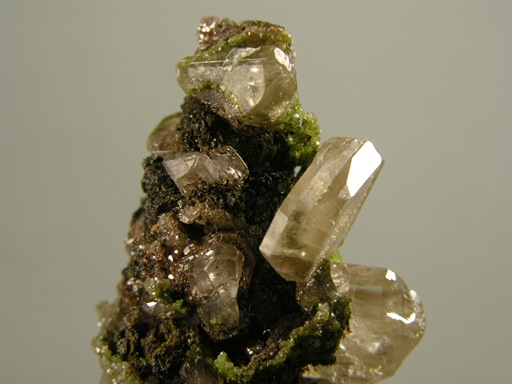 Cerussite with Duftite and Calcite (ex Immelman Coll.)