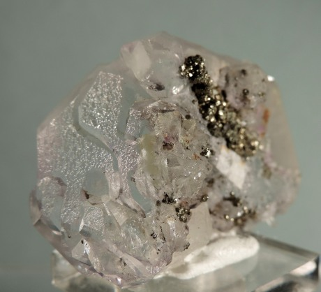Fluorite (Spinel Twins)  with Pyrite (ex C. Yoder Coll.)