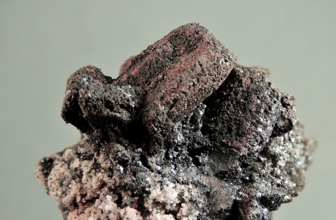 Tennantite after Enargite with Quartz