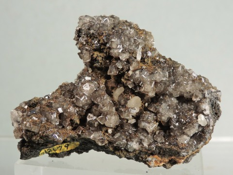 Cerussite on Smithsonite (ex U of Arizona Coll.)