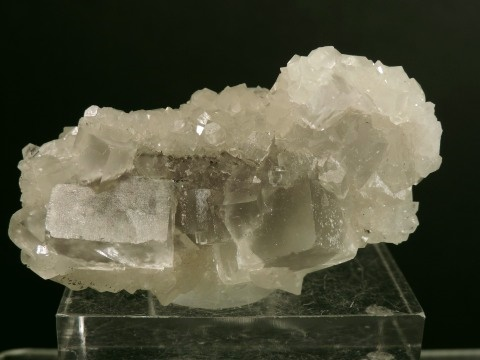 "Fluorite on Quartz ""Floater"""
