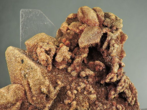 "Orpiment on Calcite ""Floater"""
