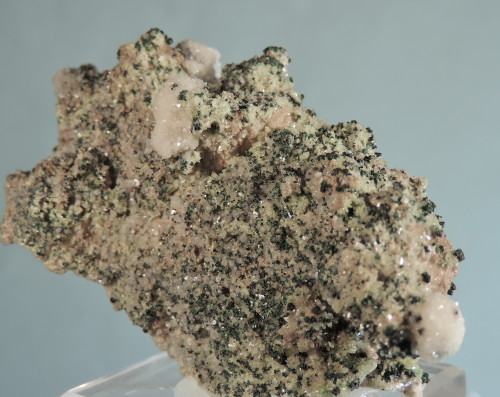 Dolomite After Tarnowitzite with Cuprite (Ex Claude Yoder Coll.)
