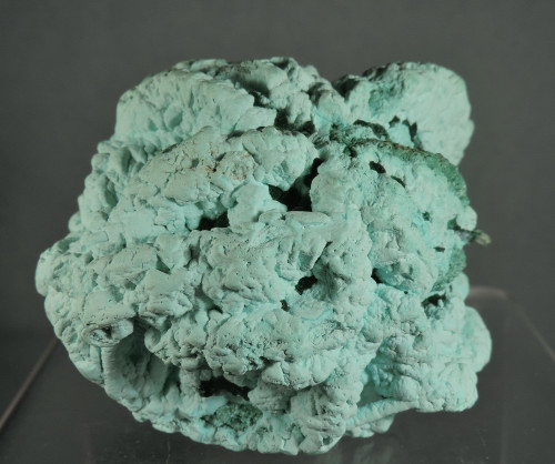 "Barite after Chrysocolla with Malachite ""Floater"" (ex S. Koster Coll.)"