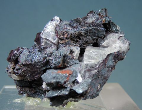 Apophyllite with Hematite Inclusions