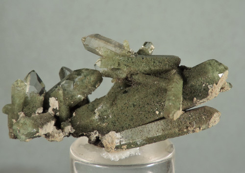 Quartz with Chlorite Inclusions (Ex Greenamyer Coll.)