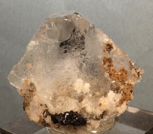 Fluorite with Pyrite, Sphalerite