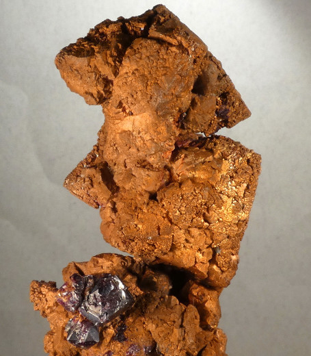 Cuprite on Copper after Cuprite