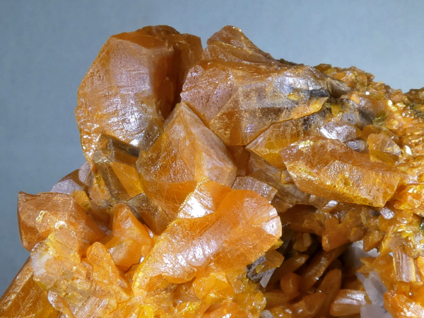 Barite with Orpiment